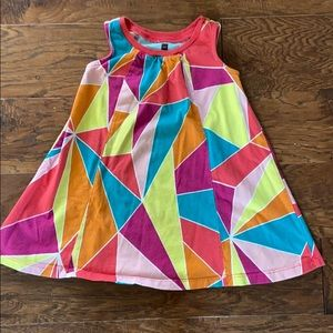 Sleeveless trapeze dress, 18-24 months